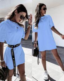 Obleka - koda 8809 - svetlo modra
