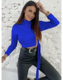 Bluza - koda 5757 - temno modra