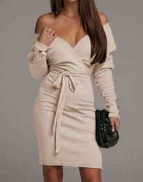 Obleka - koda 4765 - bež