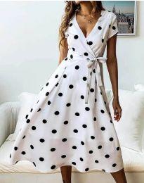Obleka - koda 4757 - 1 - bela