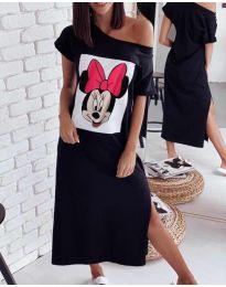 Obleka - koda 6656 - črna