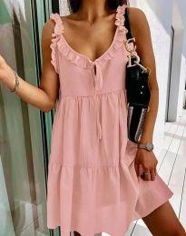 Obleka - koda 2540 - roza