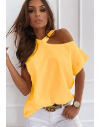 Majica - koda 0599 - 2 - rumena
