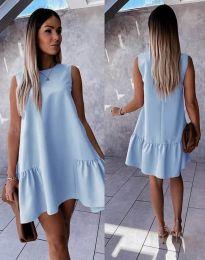 Obleka - koda 3456 - svetlo modra