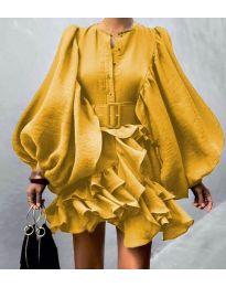 Obleka - koda 2819 - rumena
