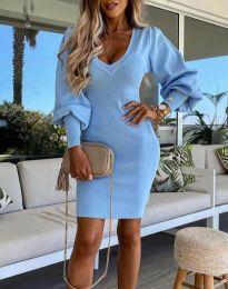 Obleka - koda 2917 - svetlo modra