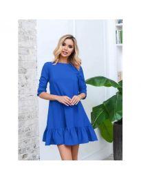 Obleka - koda 412 - modrá