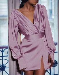Obleka - koda 5324 - svetlo roza