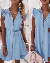 Obleka - koda 7411 - svetlo modra