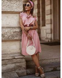 Obleka - koda 7045 - roza