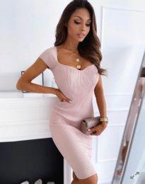 Obleka - koda 0992 - svetlo roza