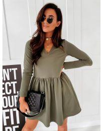 Obleka - koda 0060 - olivna