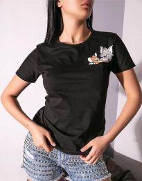 Majica - koda 2447 - 1 - črna