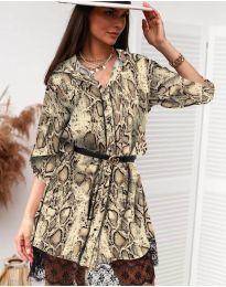 Obleka - koda 3635 - 4 - večbarvna