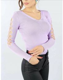 Bluza - koda 6776 - svetlo vijolična