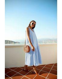 Obleka - koda 8810 - svetlo modra