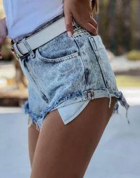 Kratke hlače - koda 4316 - 1 - svetlo modra