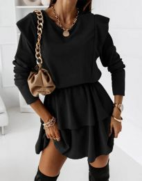 Obleka - koda 12042 - črna