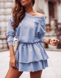 Obleka - koda 0525 - svetlo modra