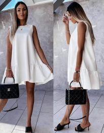 Obleka - koda 3456 - bela