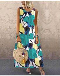 Obleka - koda 0083-2 - večbarvna