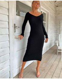 Obleka - koda 2333 - črna