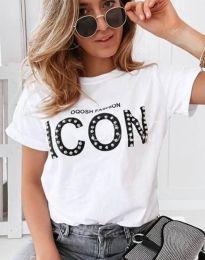 Majica - koda 4357 - bela
