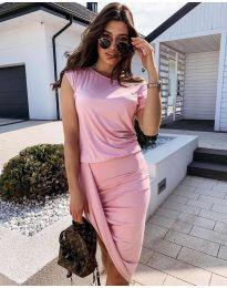 Obleka - koda 138 - roza