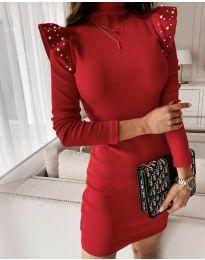 Obleka - koda 9494 - rdeča