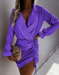Obleka - koda 4271 - vijolična