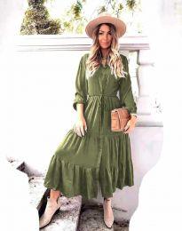 Obleka - koda 6522 - olivna