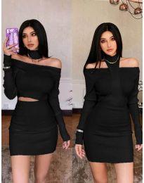 Obleka - koda 3982 - črna