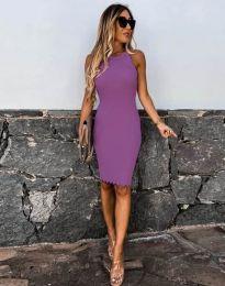 Obleka - koda 2720 - vijolična