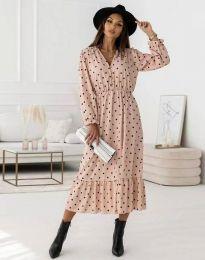 Obleka - koda 0836 - roza