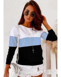 Bluza - koda 9966 - 3 - večbarvna