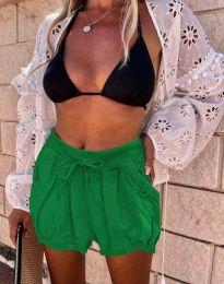 Kratke hlače - koda 0320 - 5 - temno zelena