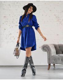 Obleka - koda 9601 - temno modra
