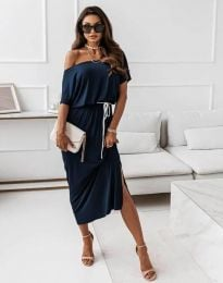 Obleka - koda 11973 - temno modra
