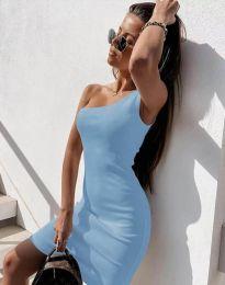 Obleka - koda 6412 - svetlo modra