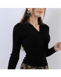 Bluza - koda 6455 - črna