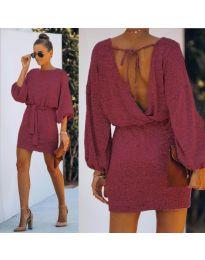 Obleka - koda 940 - bordo
