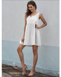Obleka - koda 2255 - bela