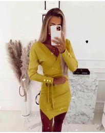 Obleka - koda 2077 - rumena