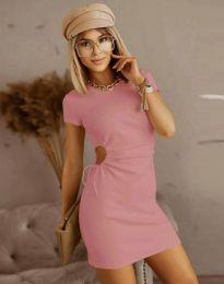 Obleka - koda 8556 - roza