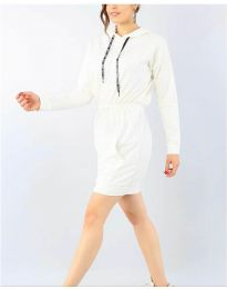 Obleka - koda 7315 - bela
