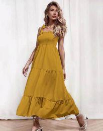 Obleka - koda 1729 - gorčica