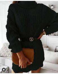 Obleka - koda 6071 - črna