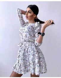 Obleka - koda 5910 - 1 - večbarvna