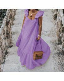 Obleka - koda 9036 - vijolična
