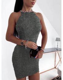 Obleka - koda 9690 - temno siva